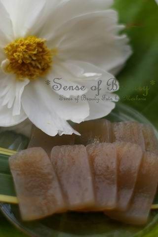 有機手作りコンニャクと芍薬の花
