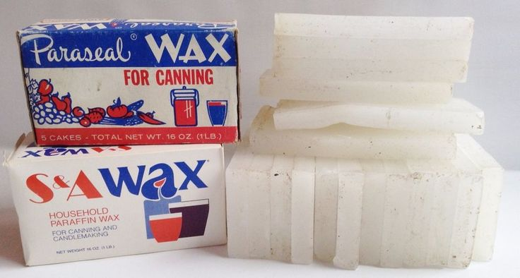 Paraseal, S&A Wax -Candles, Canning Paraffin Sealing WAX - near 6 Pounds #Parasealothers