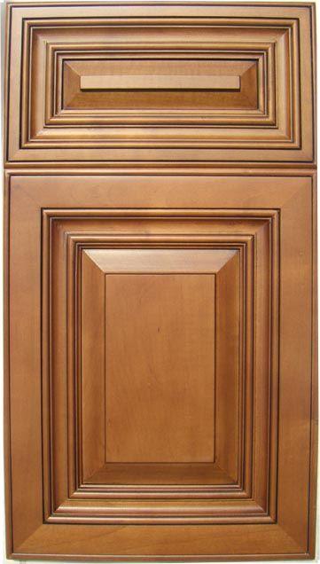 maple cabinets glazed