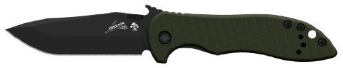 BUY NOW Kershaw CQC-5K Modified Clip Point Blade Knife Kershaw Knives and Emerson Knives have joined forces on a series of knives