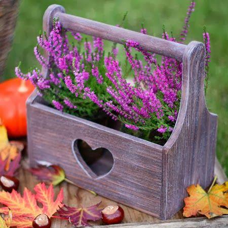 корзинка деревянная