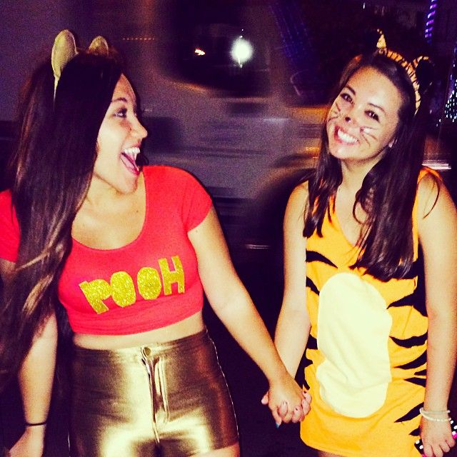 Pin for Later: 50+ Adorable Disney Couples Costumes Winnie the Pooh and Tigger