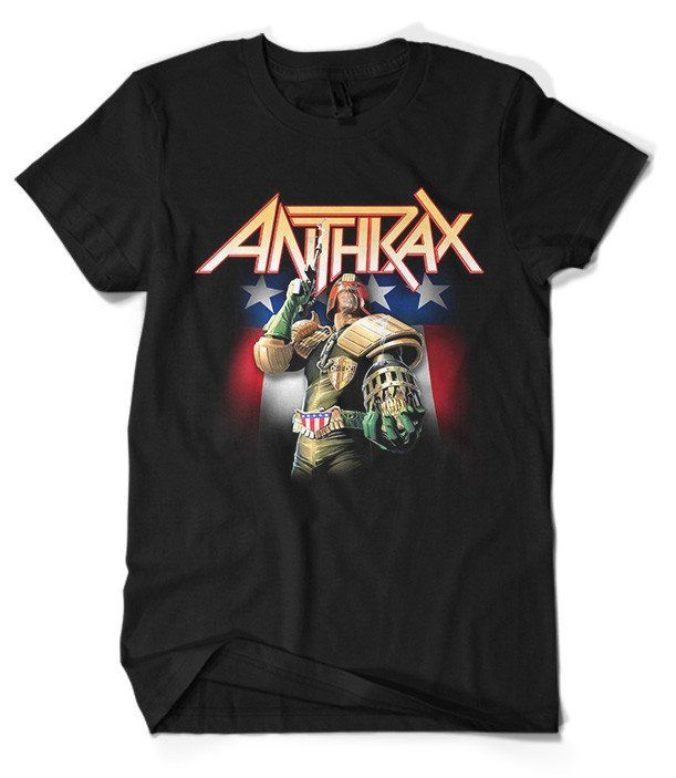 Anthrax T-Shirt Merch official licensed music t-shirt. Gildan Unisex SoftStyle S, M, L, XL. Free shipping USA, UK and worldwide.