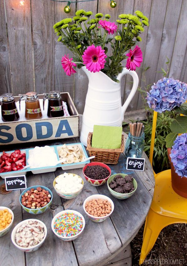 Southern Blue Celebrations Ice Cream Party Ideas