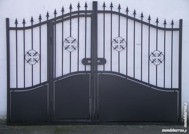 De 10 b sta id erna om portail fer forg p pinterest for Portail portillon integre