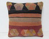 shaman kilim pillow sham contemporary pillow decorative pillow couch throw pillow cover boho decor rustic throw pillow floor cushion 28189