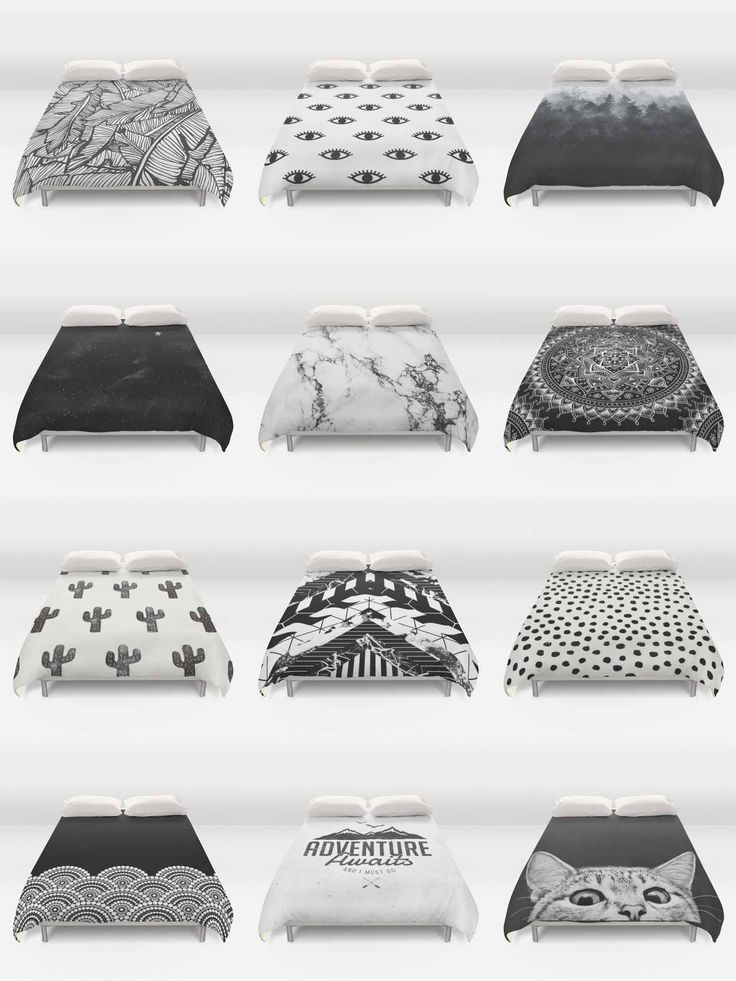 Society6 Black & White Duvet Covers - Society6 is home to hundreds of thousands of artists from around the globe, uploading and selling their original works as 30+ premium consumer goods from Art Prints to Throw Blankets. They create, we produce and fulfill, and every purchase pays an artist.