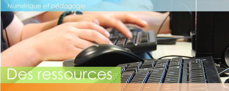 Des ressources numériques pour l'enseignement