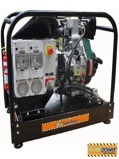 New Generator 6.8Kva Lister K172E for sale