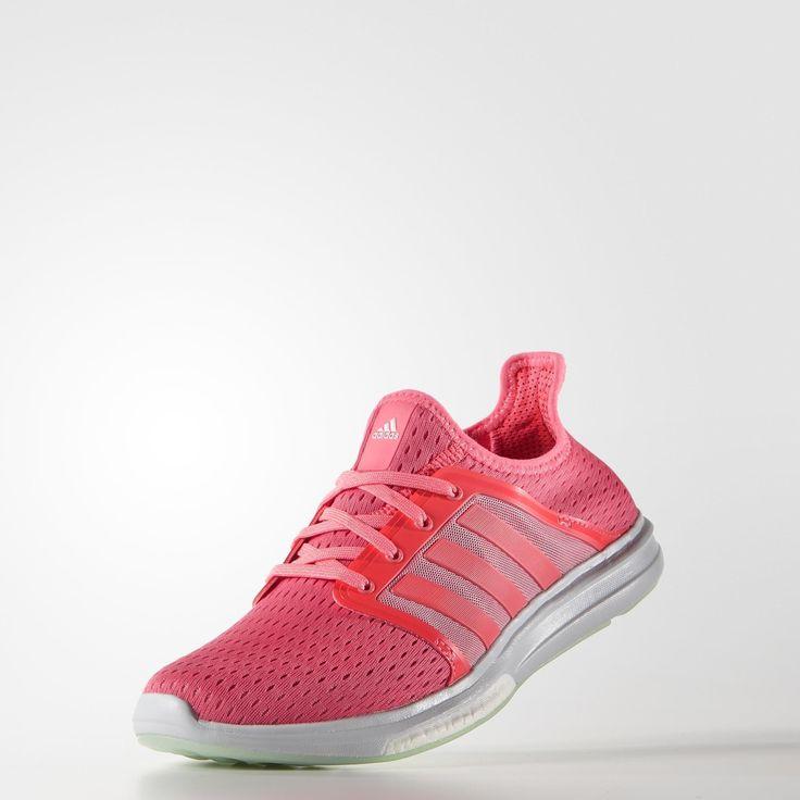 Adidas CC Fresh Women Climacool Laufschuhe pink running white neon pink 38