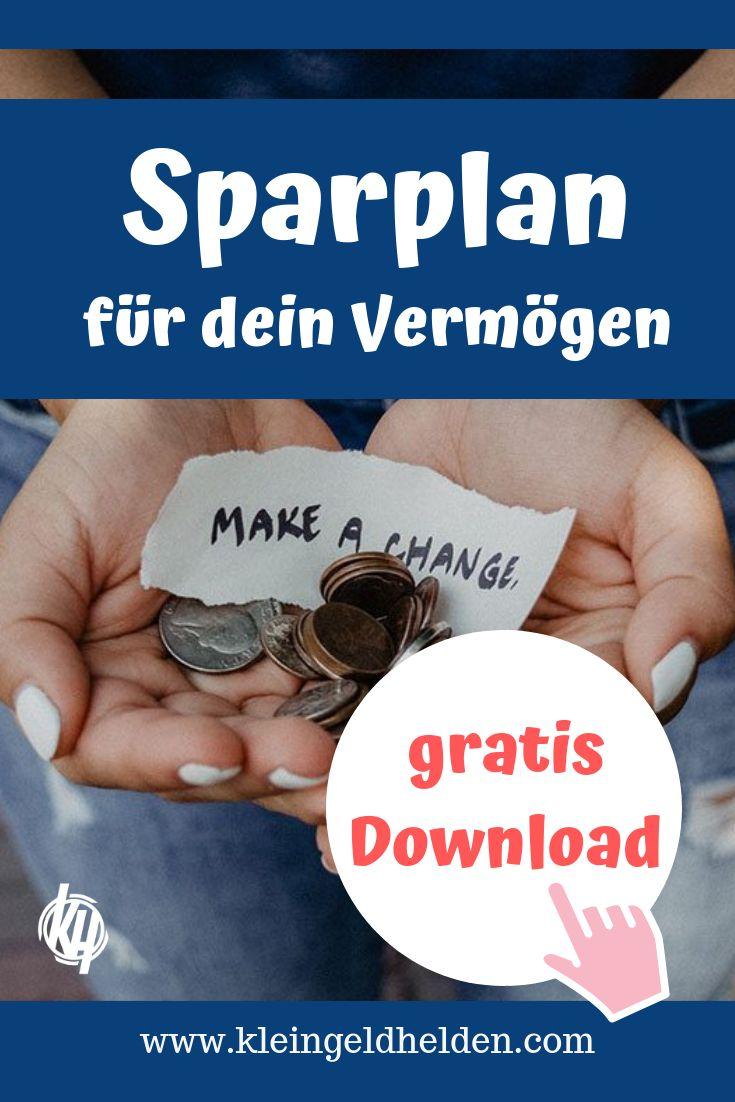 Sparplan erstellen für deinen Vermögensaufbau – mit Vorlage im kostenlosen Ebook!