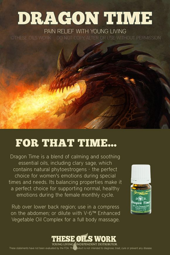 DRAGON-TIME Essential Oil from Young Living   I could use this right now, cause meanwhile in my mother effin uterus....