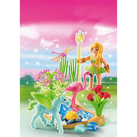 playmobil princess summer fairy princess with pegasus