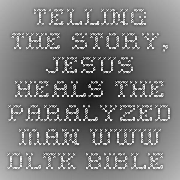 Mejores 9 imágenes de Jesus Heals The Paralytic en Pinterest ...