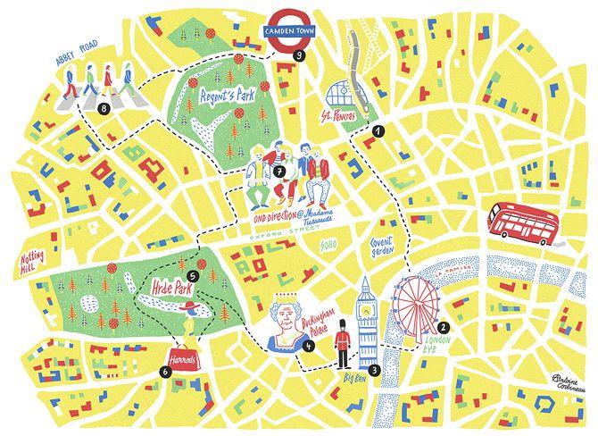 Antoine Corbineau • London map