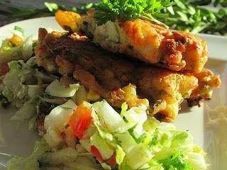 kuchniamojekrolestwo: Pierś z kurczaka w cieście z warzywami, serem
