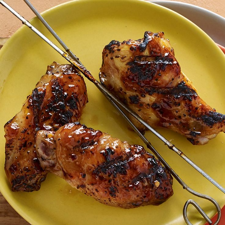 It's easy to bring restaurant quality Brazilian-style barbecuing to your backyard grill. These spicy-sweet chicken wings are double skewered, grilled then glazed with guava jelly, a favorite Brazilian ingredient, to make a finger-licking favorite for summertime entertaining.