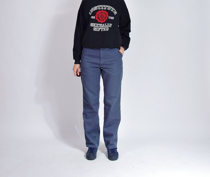 90s Carhartt Workwear Mechanic's Casual Pants / Size 31x32