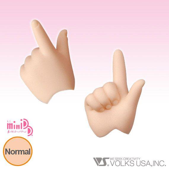 Home :: Dollfie Dream® :: DD Option Parts :: DD Hands (DD-H) :: MDD-H-03 - Pointing Hands Normal