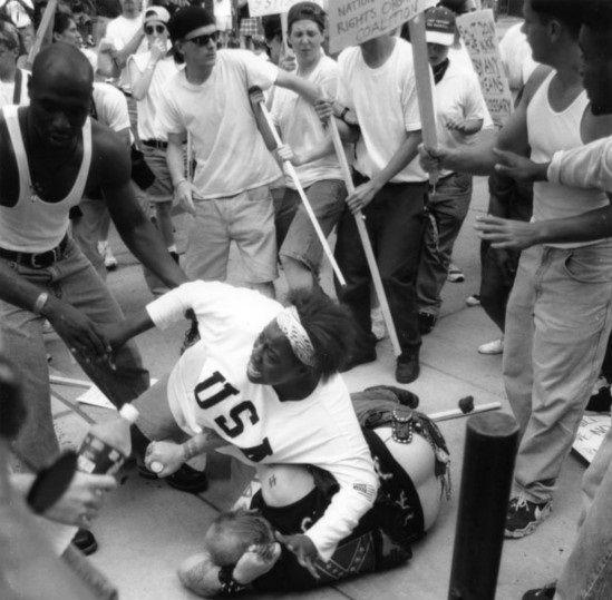 Keshia Thomas, la joven afroamericana que salvó a un racista.
