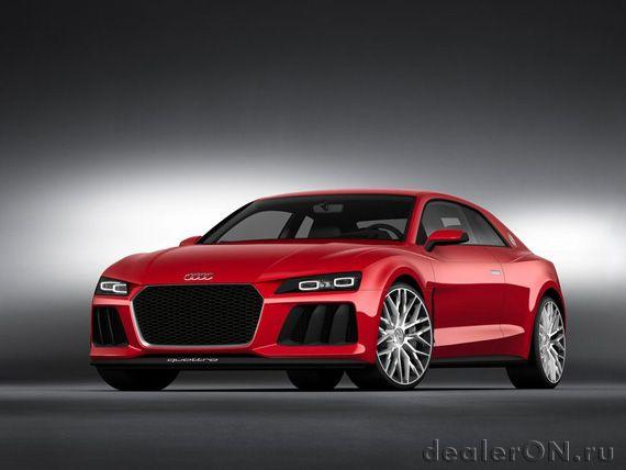 Концепт Audi Sport quattro laserlight 2014 / Ауди Спорт кваттро с лазерными фарами