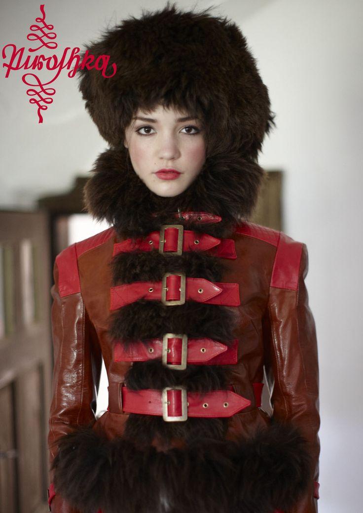 "www.piroshka.hu ""hungarian folklore fashion for the urban red riding hoods!""  Berlin - Budapest photo: Gergö Gönczöl model: Cathy Borsi Gombold Ujra! 2012"