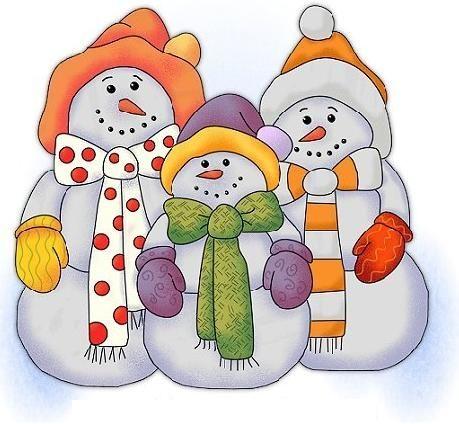 Snow Family Snowman Quilt Christmas Applique Snowman