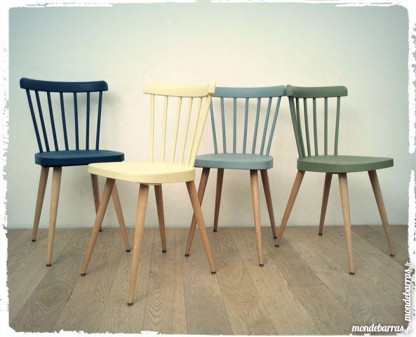 Cool Chaises Vintage Baumann Restaurees Et Revisitees Par Nos