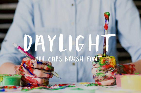 Daylight typeface by zansari on @creativemarket
