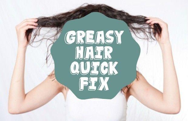 Got Greasy Hair? Here's a Quick Fix – Chelsea Crockett