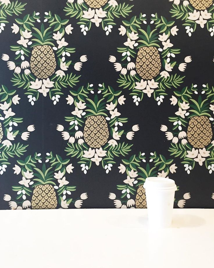 You know it's going to be a good day when you stop for a cup of coffee and see this wallpaper in the coffee shop. Oh yeah and you find $20 and a lotto ticket in the middle of the street while jaywalking to get to the cute coffee shop. (Spoiler- the lotto ticket was not a winner ). Hope you're having a good Monday. - Sara