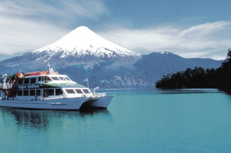 """Navigate through the #Andes #Mountain with the passage """"Andean Cross"""" linking Puerto Varas, #Chile, and San Carlos de #Bariloche in #Argentina. Dazzle with the beautiful #landscapes and #lakes of #Patagonia, and tour one of the routes that the native #huilliche and #mapuche toured long time ago.  #nature #sale #funtrip #outdoorlovers #history #sail"""