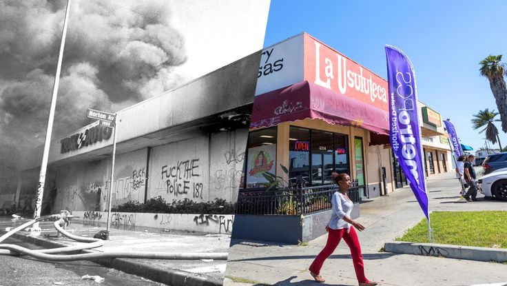 For some, the riots materialized at a distance: a television newscast that could no longer be ignored, or columns of smoke that began rising on the horizon. For others, they began brutally: with a punch in the face or a kick to the head. And for far too many, the awareness that something was deeply wrong dawned not on April 29, 1992, but much earlier. The riots divided Los Angeles, and a...