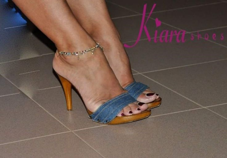 Feet 027 pink wedges - 1 8