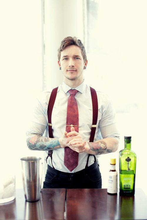 I like the suspenders... and this dude's face, so saving that for a reference