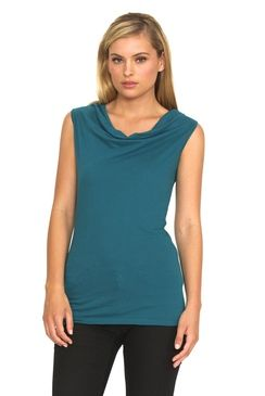 Rosa Top Turquoise
