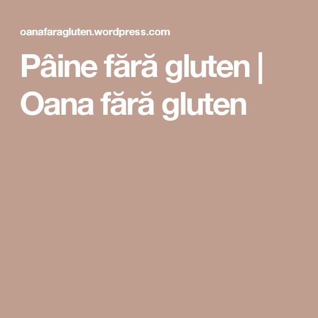 Pâine fără gluten | Oana fără gluten