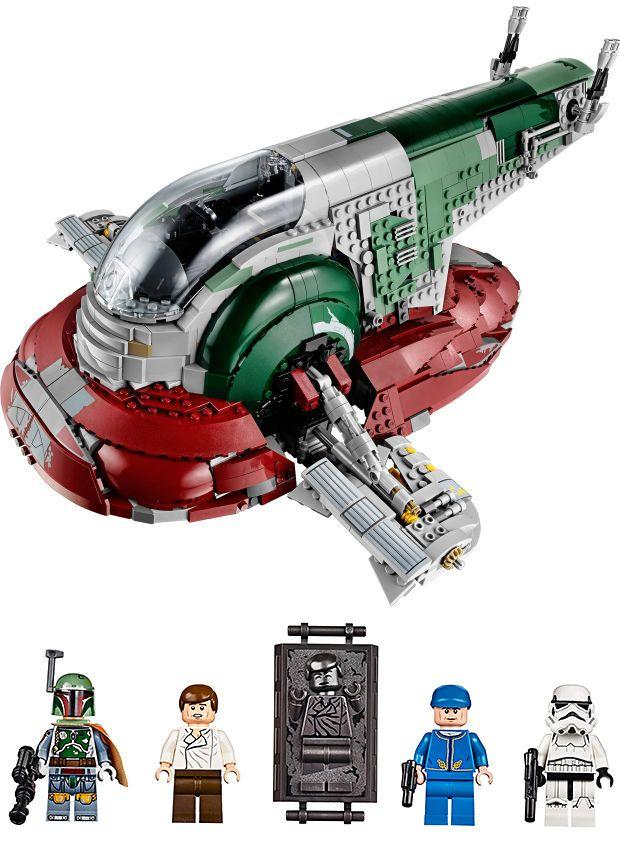 Boba Fett's Slave 1 by Lego