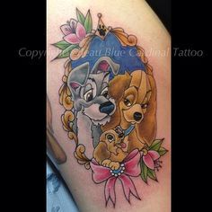 Lady and the tramp tattoo
