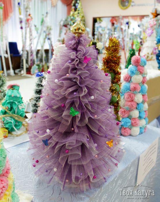 подсветить елка из фатина с конфетами картинки его мнению