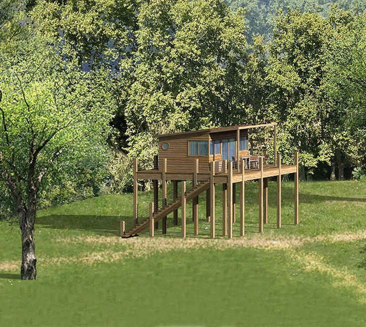 m s de 25 ideas incre bles sobre cabane sur pilotis en pinterest patio circular casa sobre. Black Bedroom Furniture Sets. Home Design Ideas
