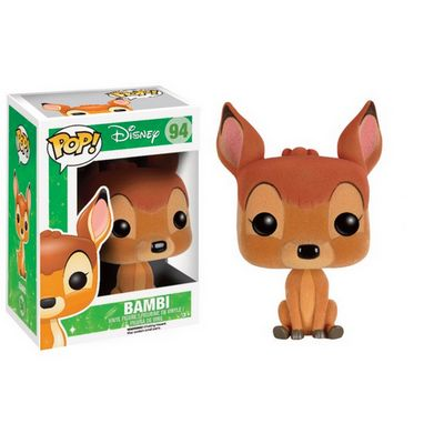 Figurine POP Disney Bambi Floquée Exclusive