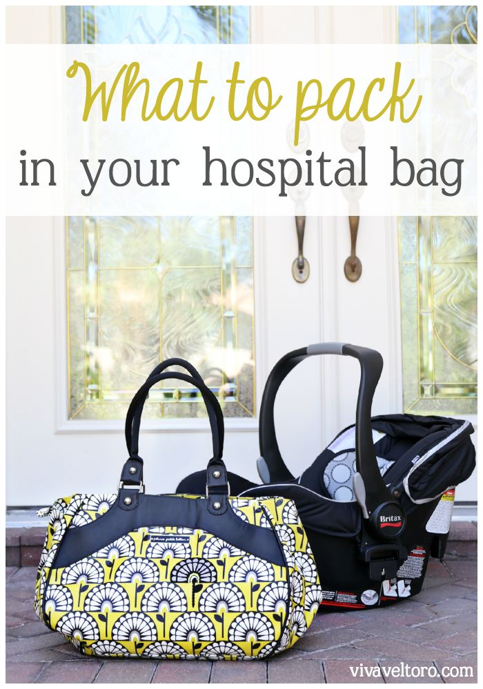 What to pack in your hospital bag - this is a good list!