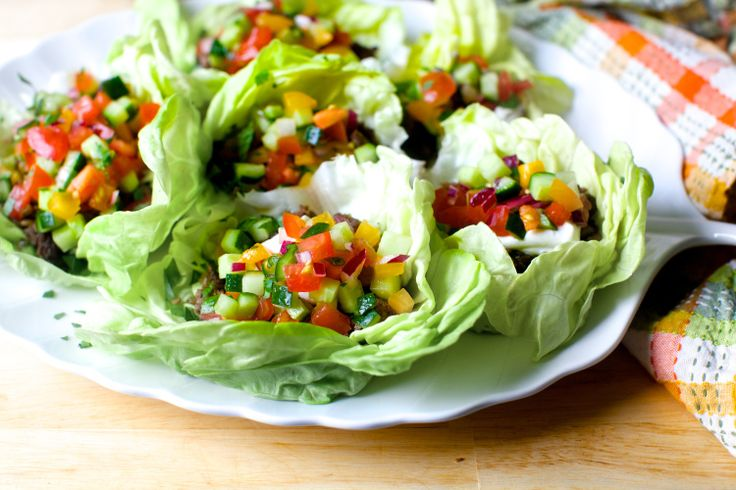 I made these lettuce cups on a whim for dinner last night and I'm so glad I did because I could see them going immediately into a regular rotation. I don't know about you, but I think g…