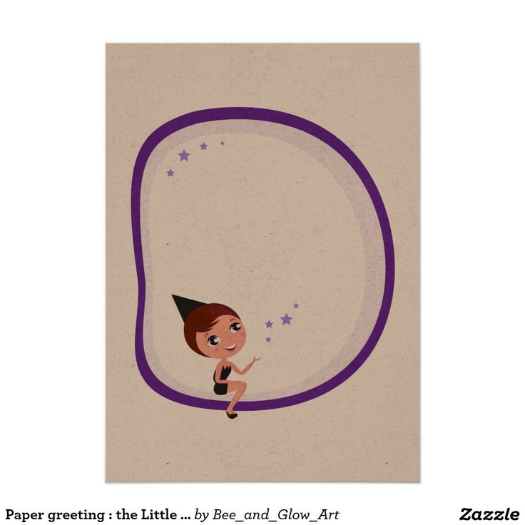 Paper greeting : the Little Witch