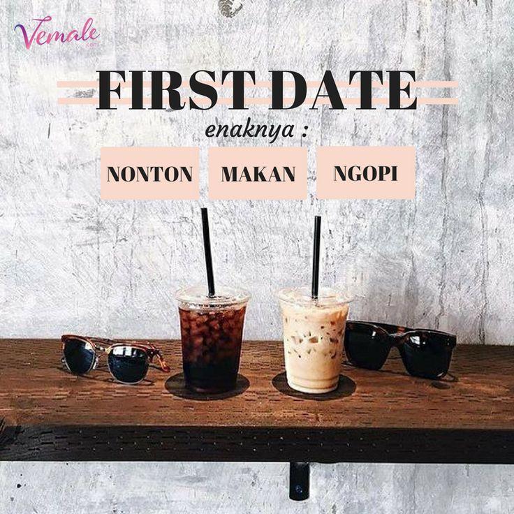 Yuk yuk cerita deh, enaknya kalau first date itu ngapain sih? Lumayan kan buat contekan yang lain 😗  pic : pinterest  #vemaledotcom #ruangvemale #sharingajasis #vemalelove #vemalefun  #april #good2share