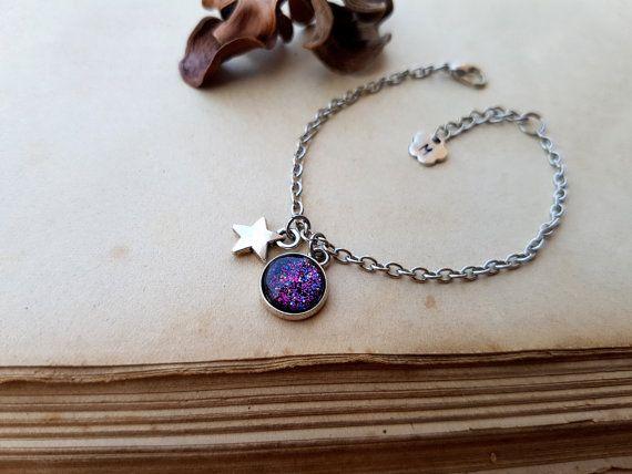 Star Bracelet Wish Bracelet Tiny Star Bracelet Layering
