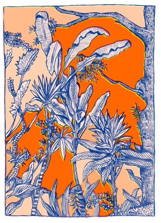 Plants again Art Print