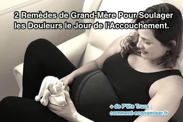 une femme enceinte se prépare à la naissance de son bébé