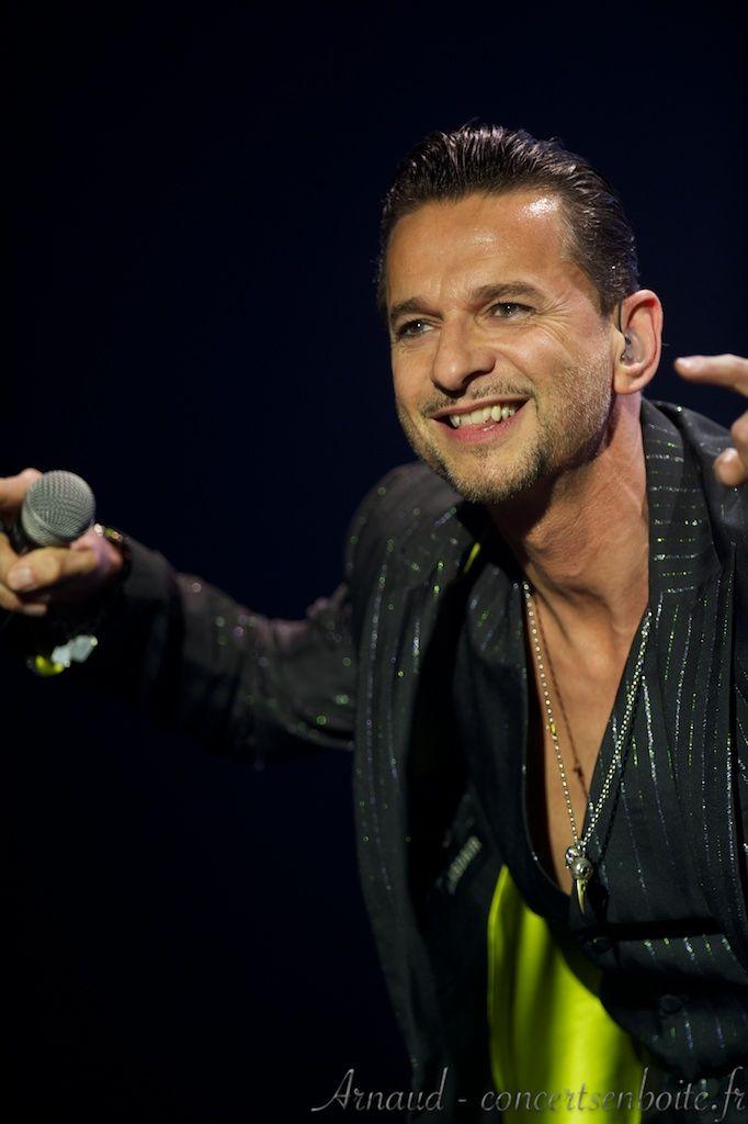Dave Gahan, Depeche Mode, Nice Nikaïa 04/05/2013